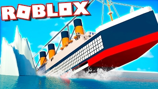 SURVIVE THE TITANIC IN ROBLOX
