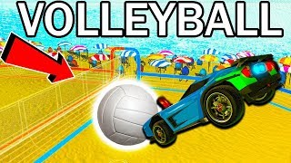 NEW ROCKET LEAGUE VOLLEYBALL MODE!