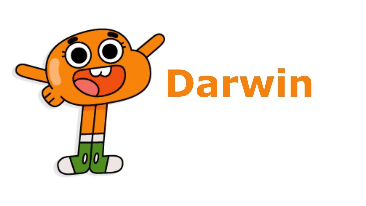 Дарвин (Darwin) Как рисовать Дарвина из мультика ...