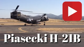 Piasecki H-21B Take Off
