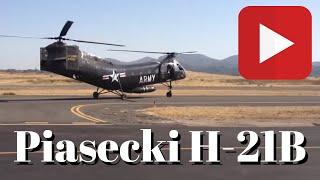 Piasecki H-21B Take Off