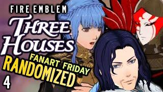 RANDOM FLAME EMPEROR/MOCK BATTLE! Fire Emblem: Three Houses RANDOMIZED.Part 4 #RandomizedThreeHouses