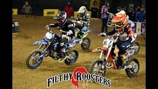9 Year Old Kid Racing | Council Bluffs, Iowa | Hoosier Arenacross | Talon's World Vlog