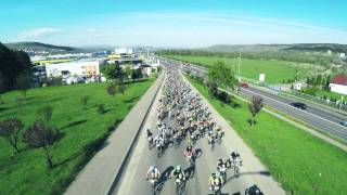 Aerial shots and timelaps at Banca Transilvania MTB and Trail Marathon Powered by Vodafone