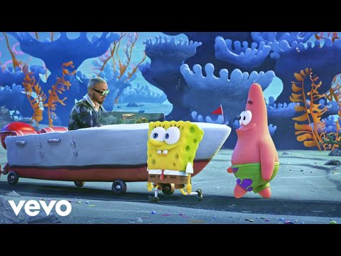 """[10 HOUR] Tainy, J Balvin – Agua (Music From """"Sponge On The Run"""" Movie)"""