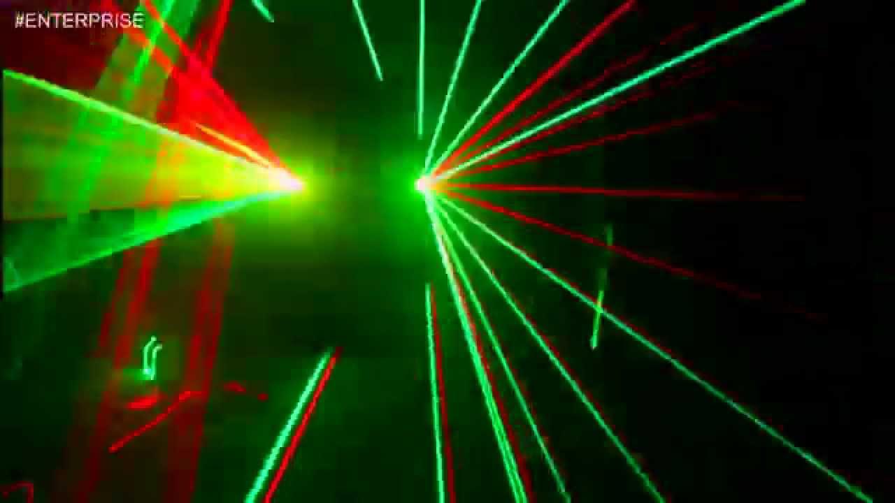 Лазер для дискотек, дома, кафе и клубов GEOMETRY PRO 200 mW