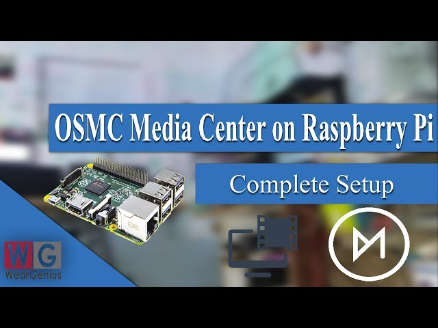 OSMC on Raspberry PI with Setup and Control using Android