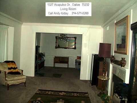 1327 Acapulco Dr , Dallas 75232  -  Owner Financed - No Banks Needed