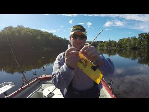 Dragging small lakes for fall channel catfish