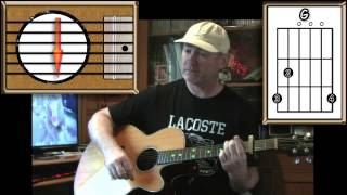 Last Christmas - Wham - Acoustic Guitar Lesson (easy)