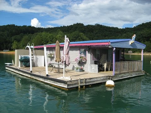 15 X 30 Floating Cottage 450sqft For Sale On Norris Lake