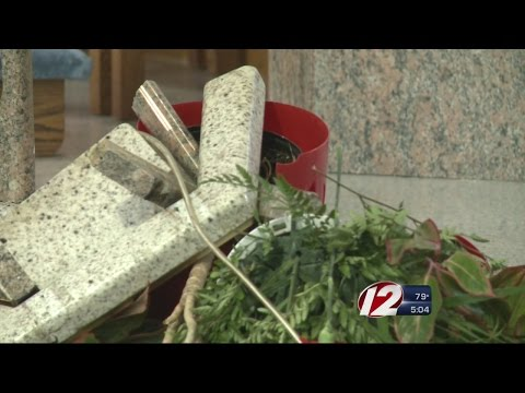 Catholic church in Providence is vandalized
