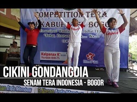 CIKINI GONDANGDIA Senam Tera Indonesia Bogor