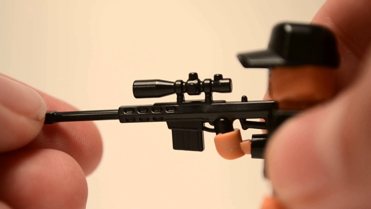Bauanleitung Fr Lego L96a1 Sniperrifle Working Youtube To