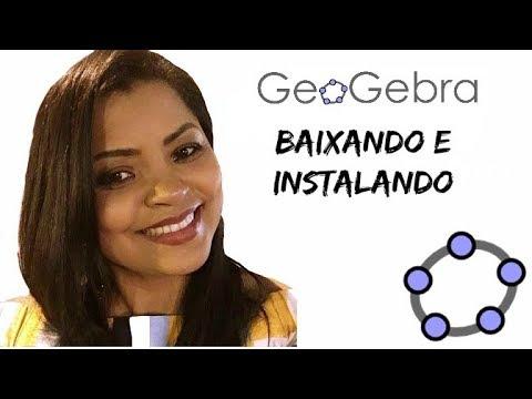 GeoGebra   Download E Instalação 2017   Profa Jaqueline Silva
