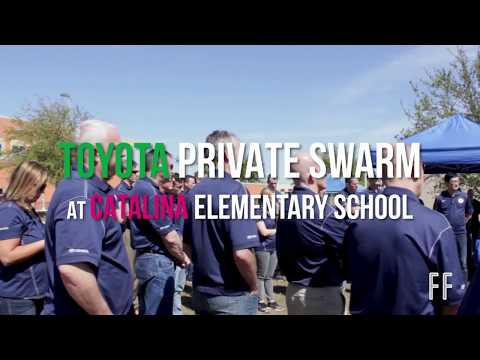 Toyota Swarm at Catalina Elementary School