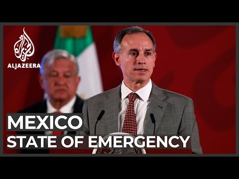 Mexico COVID-19 cases tops 1,000, declares state of emergency