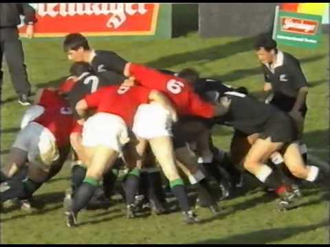 1993 Rugby Union match:  Maori All Blacks vs British Irish Lions