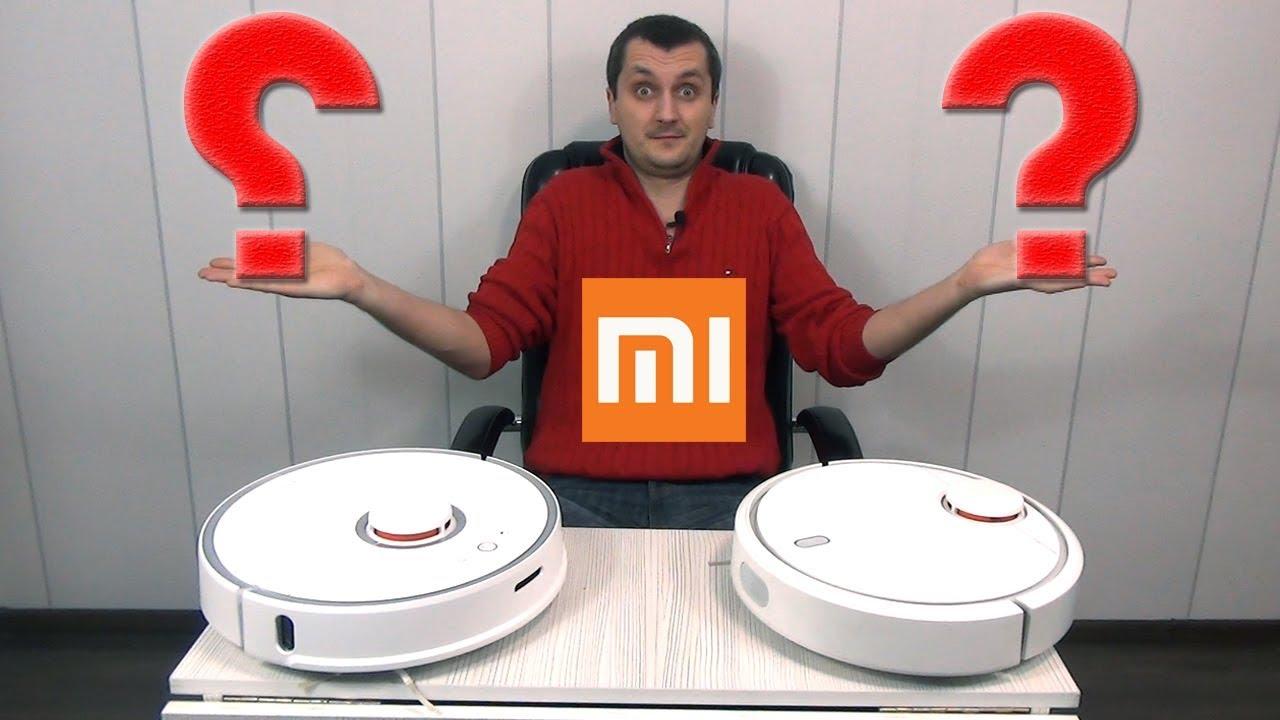 Обзор Пылесос Xiaomi. Сравнение mi Robot или Roborock S50 какой Робот Лучше Выбрать