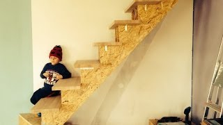 Building Stairs Part 2 (HJRR) NEW OLD HOUSE series