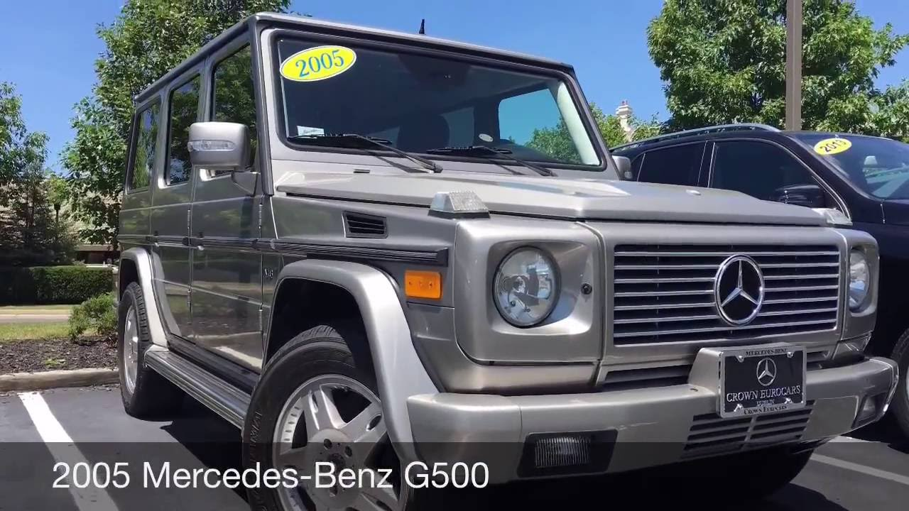 2005 mercedes benz g500 in production for 35 years only the unimog surpasses it