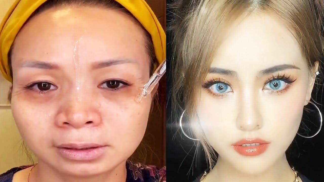 Asian Makeup Tutorials Compilation | New Makeup 2021 | 美しいメイクアップ/ part 13