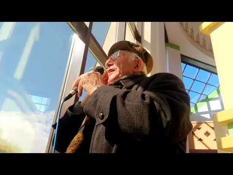 Today's adhan-Beautiful voice by 87 years old Bosnian.