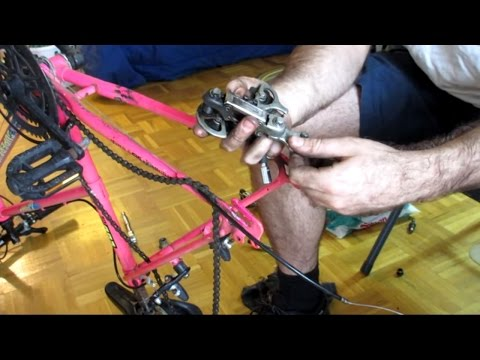 Basic Repairs to a Discarded Bicycle