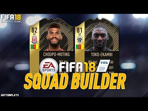 FIFA 18 Squad Builder - AMAZING BUDGET STRIKER! CHEAP 90K TEAM! w/ IF Choupo-Moting!