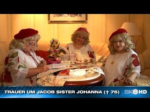 TRAUER UM JACOB SISTER JOHANNA († 76)