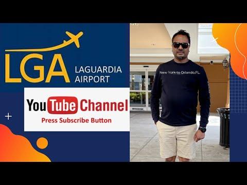 LaGuardia Airport to Orlando Florida