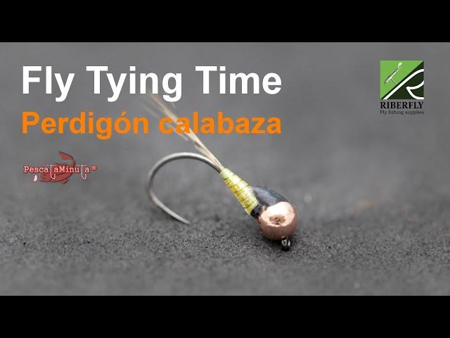 RIBERFLY - Fly Tying Time Cap. XIV - Perdigón calabaza