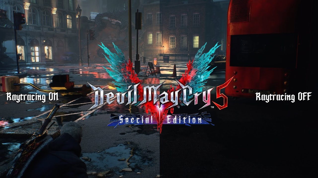 Devil May Cry 5 Special Edition - Ray Tracing Overview