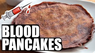 BLOOD PANCAKES Blodplättar | Around the World Breakfast | SWEDEN