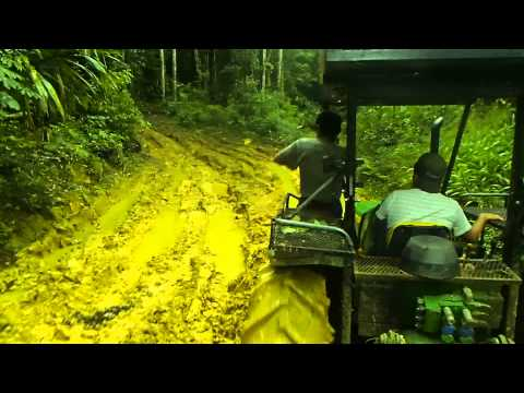 """Riding in the """"Jumping Viper"""" after Doyle's Delight - Highest Point in Belize"""