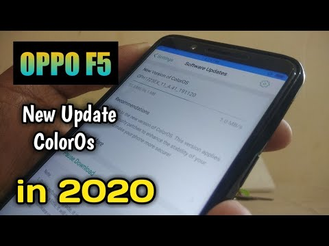 Oppo F5 New Update 2020 । CPH1723EX_11_A.41_191120 New Version ColorOs Oppo F5, 2020 Oppo F5 Update
