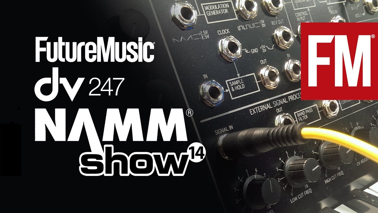NAMM 2014: Korg MS-20 Kit