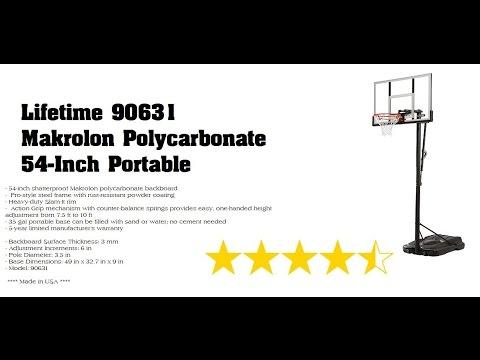 LIFETIME Basketball System Assembly - Model No 90631