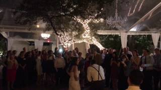 Groom's awesome rendition of Hamilton musical for his Bride. Congratulations Caroline & Jeff!