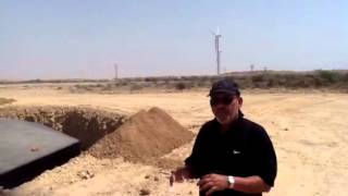 Pakistan wind turbines foundations by Descon Karachi videos   by SalimMastan