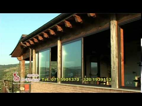 Agriturismo La Terrazza Umbria TV - YouTube