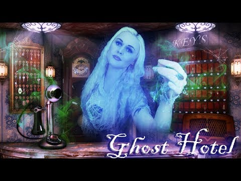 Ghost Hotel Check In [ASMR]