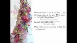 Wedding Cakes, Las Vegas, How to save $100's on your wedding cake. Faux Ever Cakes