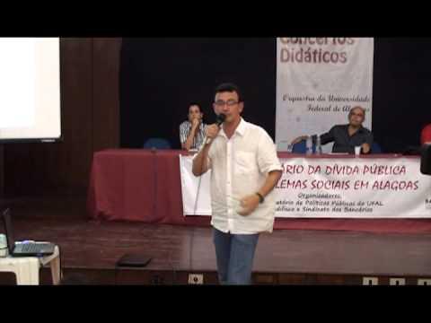 1º Seminário da Dívida Pública e os Problemas Sociais em Alagoas