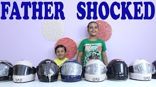 HELMET || Indian Comedy Show || Fathers Day Gift || GOOD HABITS