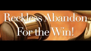The Behan Law Group, P.L.L.C. Video - Reckless Abandon For the Win!