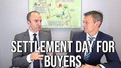 Closing Day Process for Buyers! What to Expect at Settlement Day when Buying a Home