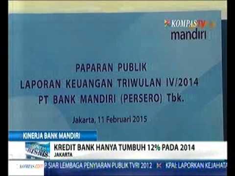 Kredit Bank Hanya Tumbuh 12% Pada 2014