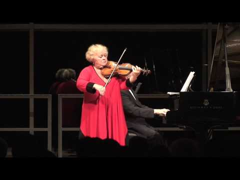 Dora Schwarzberg plays with Pavel Gililov- Bartok Rumanian Folk Dances