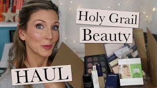 My Holy Grail Must-Have Beauty Products Haul!